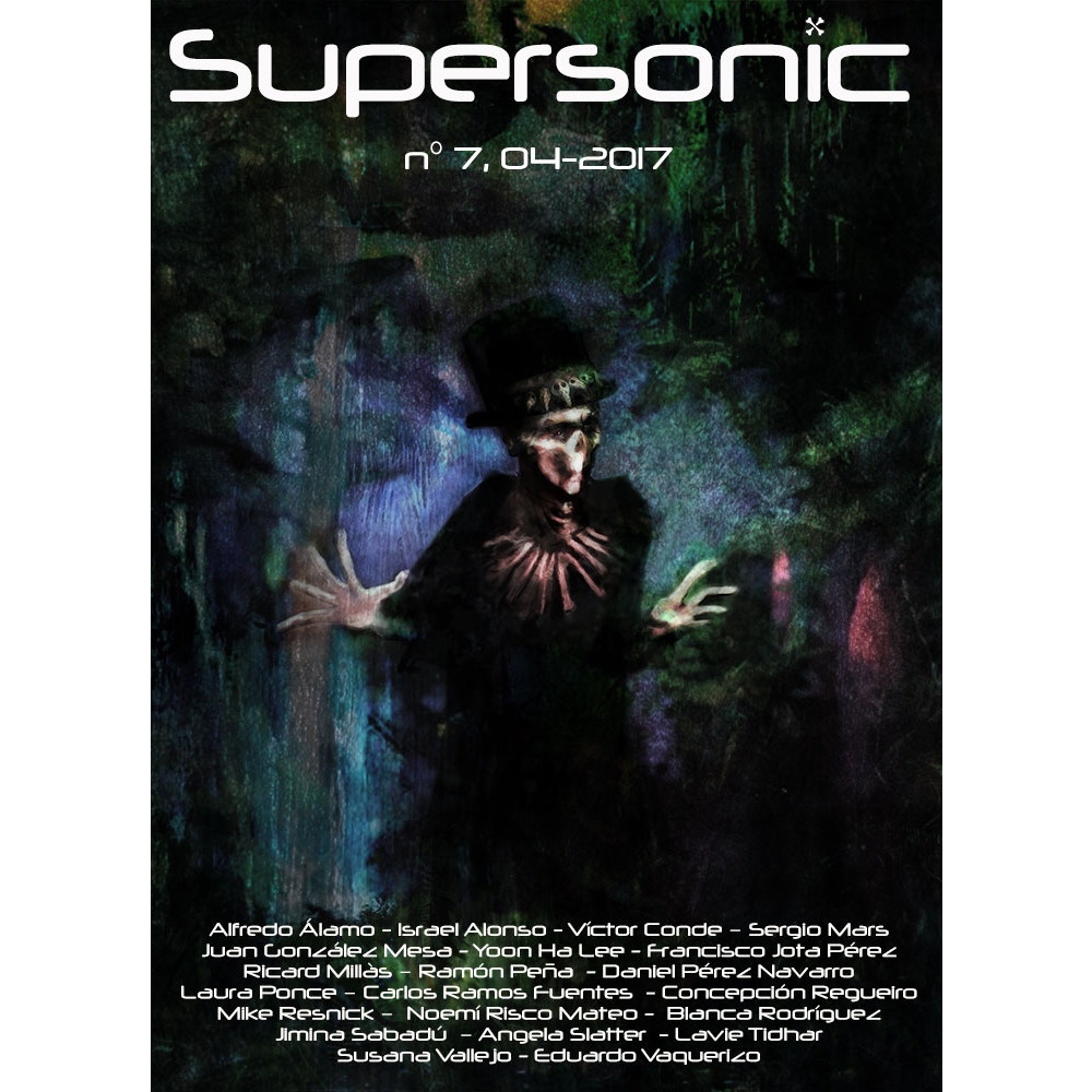 Magazine cover Supersonic